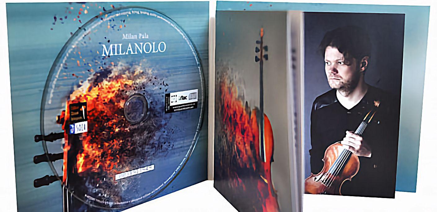 W.M.Bauer auf der neuen CD des Violinisten Milan Paľa zu hören